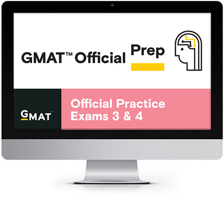 GMAT Official Practice Exams 3 and 4